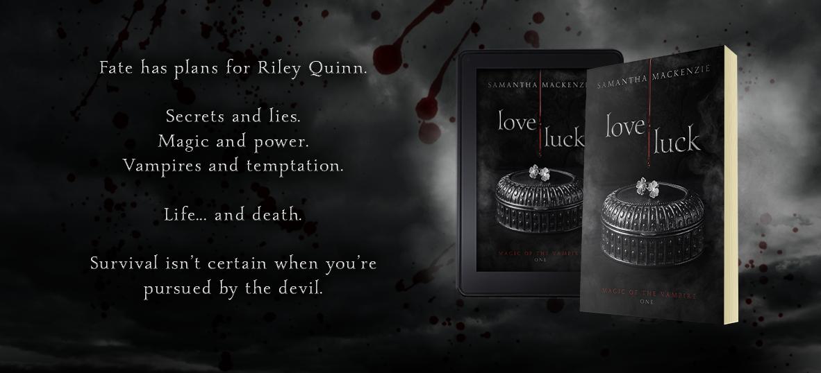 Samantha MacKenzie Author Magic of the Vampire (ONE) love luck